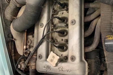 Este Alfa Romeo Giulietta SZ ha pasado más de 30 años cogiendo polvo