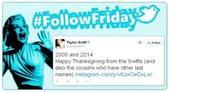 #FollowFriday de Poprosa: Y las celebrities celebraron Acción de Gracias