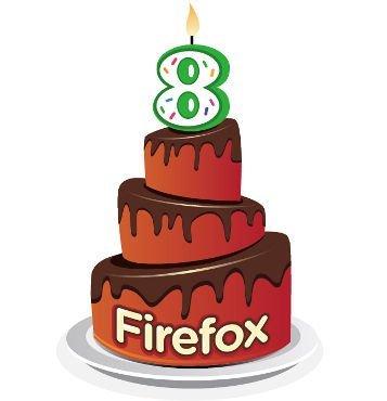 Feliz cumpleaños Firefox