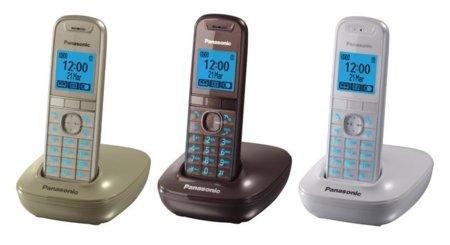 Panasonic Dect KX-TG5511, teléfonos inalámbricos de colores y poco más