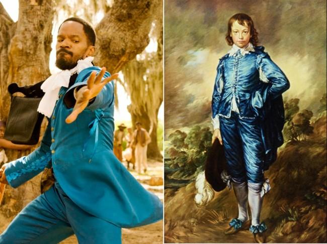 La influencia de Thomas Gainsborough en el Django de Tarantino