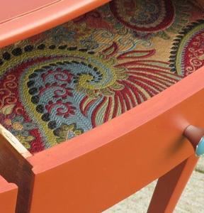 Una buena idea DIY: forrar los cajones con tus estampados favoritos