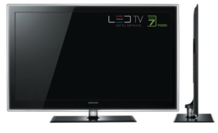 Televisores LED de Samsung reproducen vídeo en alta definición