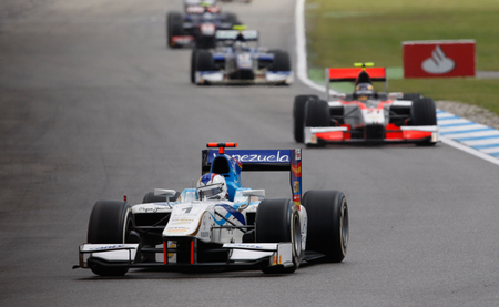 Johnny Cecotto y James Calado vencen en la ronda de la GP2 en Hockenheim