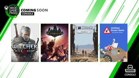 The Witcher 3: Wild Hunt, Untitled Goose Game y Pillars of Eternity entre los juegos que se unirán esta semana a Xbox Game Pass