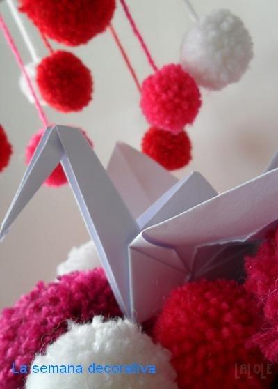 semana decorativa en decoesfera proyecto 1000 grullas en laloleblog