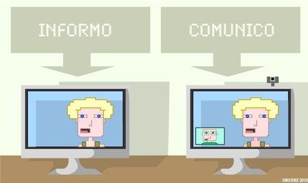 ¿Comunicación interna o mera información?