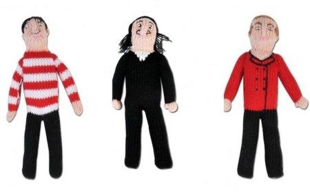 Pintores famosos covertidos en muñecos
