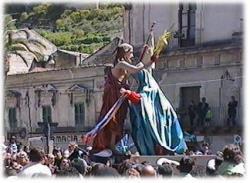 Modica: La fiesta de nuestra Señora Vasa Vasa