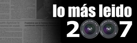 Lo más leido de 2007 en Xataka Foto