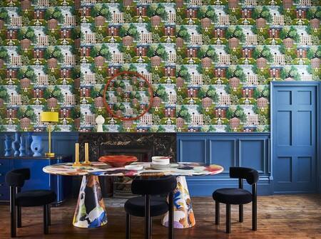 Viste tus paredes y da un cambio radical a tu hogar con esta colección de papeles pintados de Cole & Son