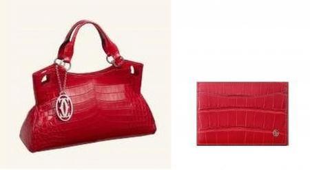 Rojo Cartier en la colección Marcello