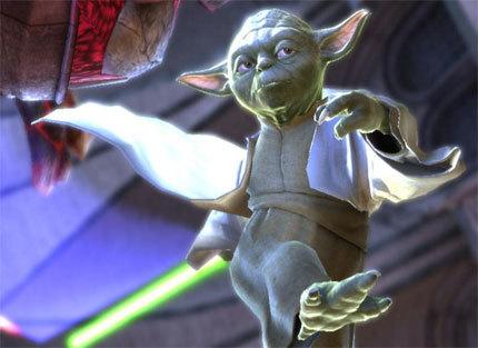 Galería de imágenes de Yoda y Darth Vader en 'Soul Calibur IV'
