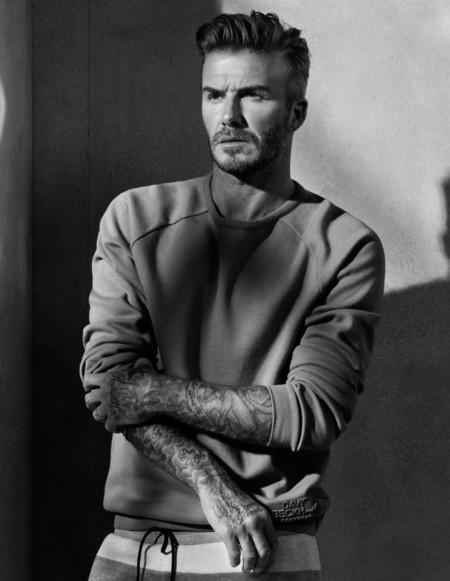 David Beckham hasta en la sopa: así es su colección bodywear otoño-invierno 2015/2016 para H&M