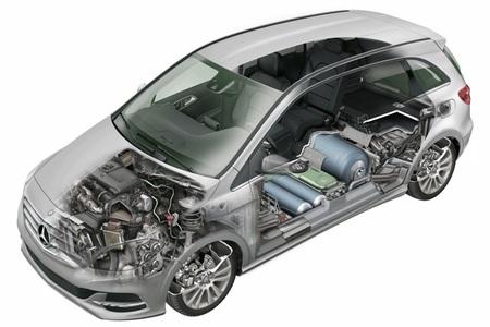 Mercedes-Benz Clase B 200 Natural Gas Drive