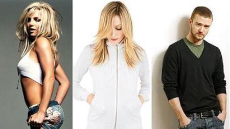 Madonna, Justin Timberlake y Britney Spears compartirán escenario