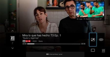 Movistar+ permitirá ver dos canales de televisión a la vez en el desco UHD