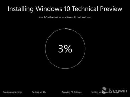 Más novedades para Windows 10, por fin llegó el turno de la interfaz de instalación