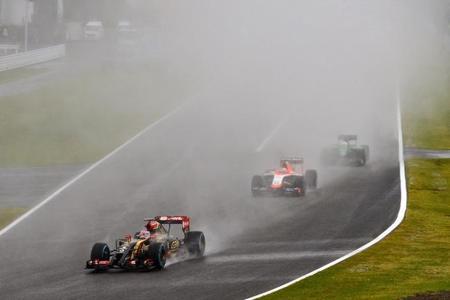 Los pilotos se quejan del neumático para lluvia extrema