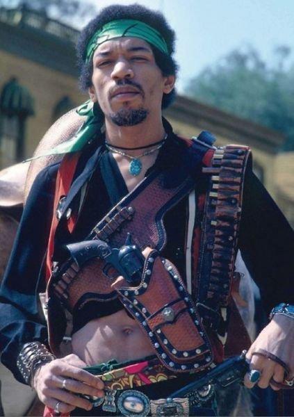 Jimmy Hendrix vaquero