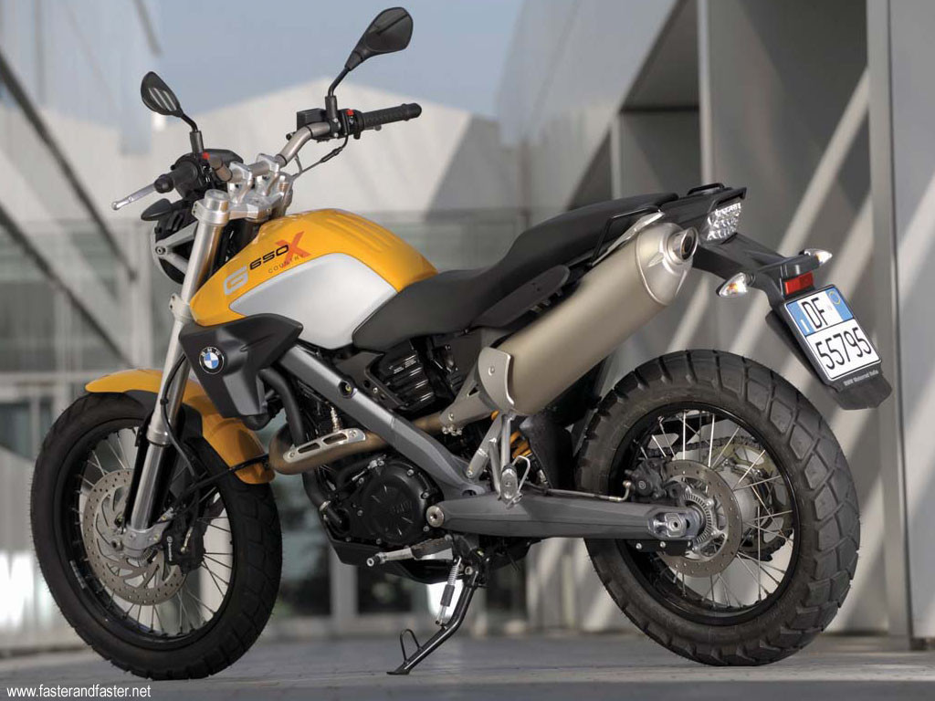 Foto de BMW G650 XCountry 2009, made in China (3/4)