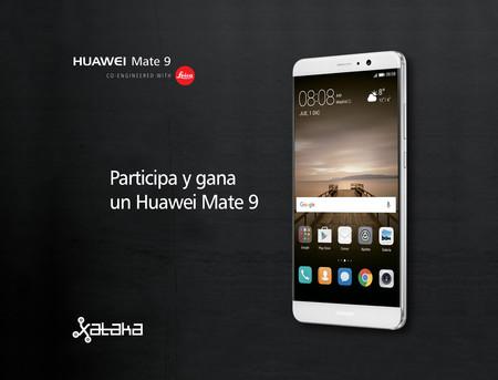 ¿Quieres ganar un Huawei Mate 9? ¡Participa en el #ConcursoHuaweiMate9!