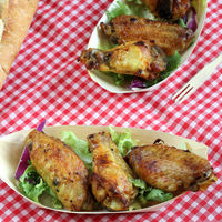Alitas de pollo al curry, ideales como receta de aperitivo