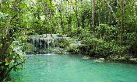 Las cataratas Erawan. Kanchanaburi, Tailandia (III)