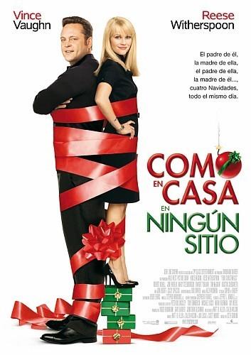 'Como en casa en ningún sitio' ('Four Christmases'), póster y trailer