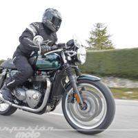 Prueba de la gama Modern Classic de Triumph