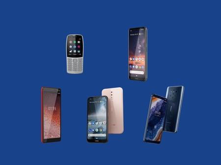 De un móvil de 35 dólares a uno con 5 cámaras traseras: todo lo que Nokia (HMD) ha presentado en el MWC 2019