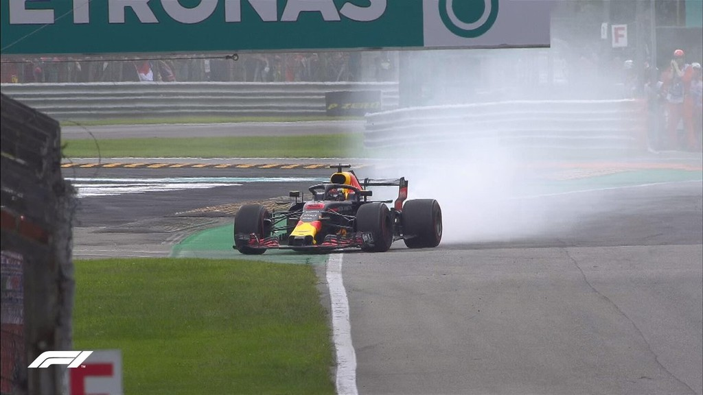 Ricciardo Retirada Gp Italia F1