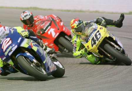 Valentino Rossi en el 2000