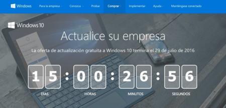Quedan pocos días para actualizar gratis a Windows 10