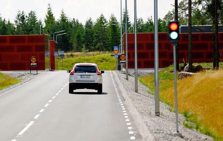 La pista de pruebas cubierta para coches autónomos de AstaZero