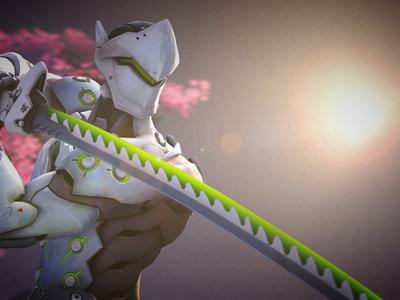 Forjan la katana de Genji de Overwatch en el mundo real
