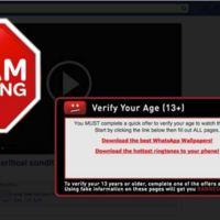 """La última estafa de Facebook: un supuesto """"vídeo impactante"""""""