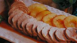 Solomillos de cerdo y manzanas salteadas