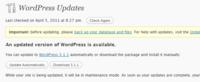 Lanzado WordPress 3.1.1, importante actualización de seguridad