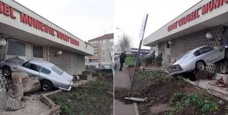 Huye de un control de la policía y se estrella al volante de un Aston Martin DB6 de casi 400.000 euros