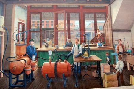 Antigua fábrica de Coca Cola