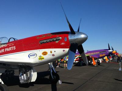 California 1000 Air Race, la locura de las carreras de aviones