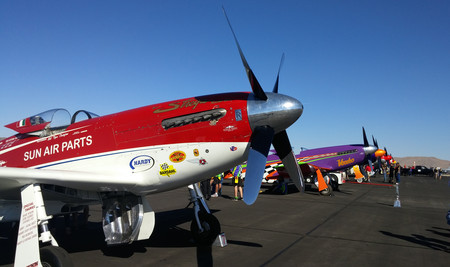 California 1000 Air Race, la locura de las carreras de aviones