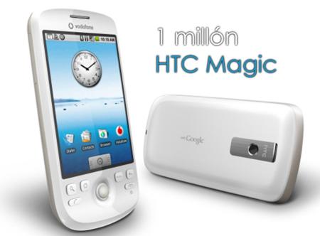 HTC alcanza el millón de Magics vendidas