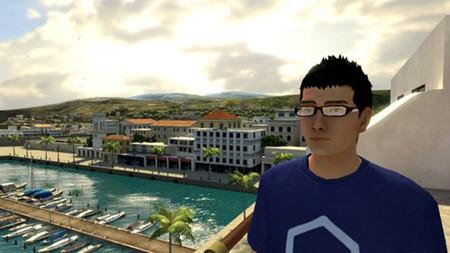 El stand de Sony en el TGS 2008, realidad contra 'Home'.