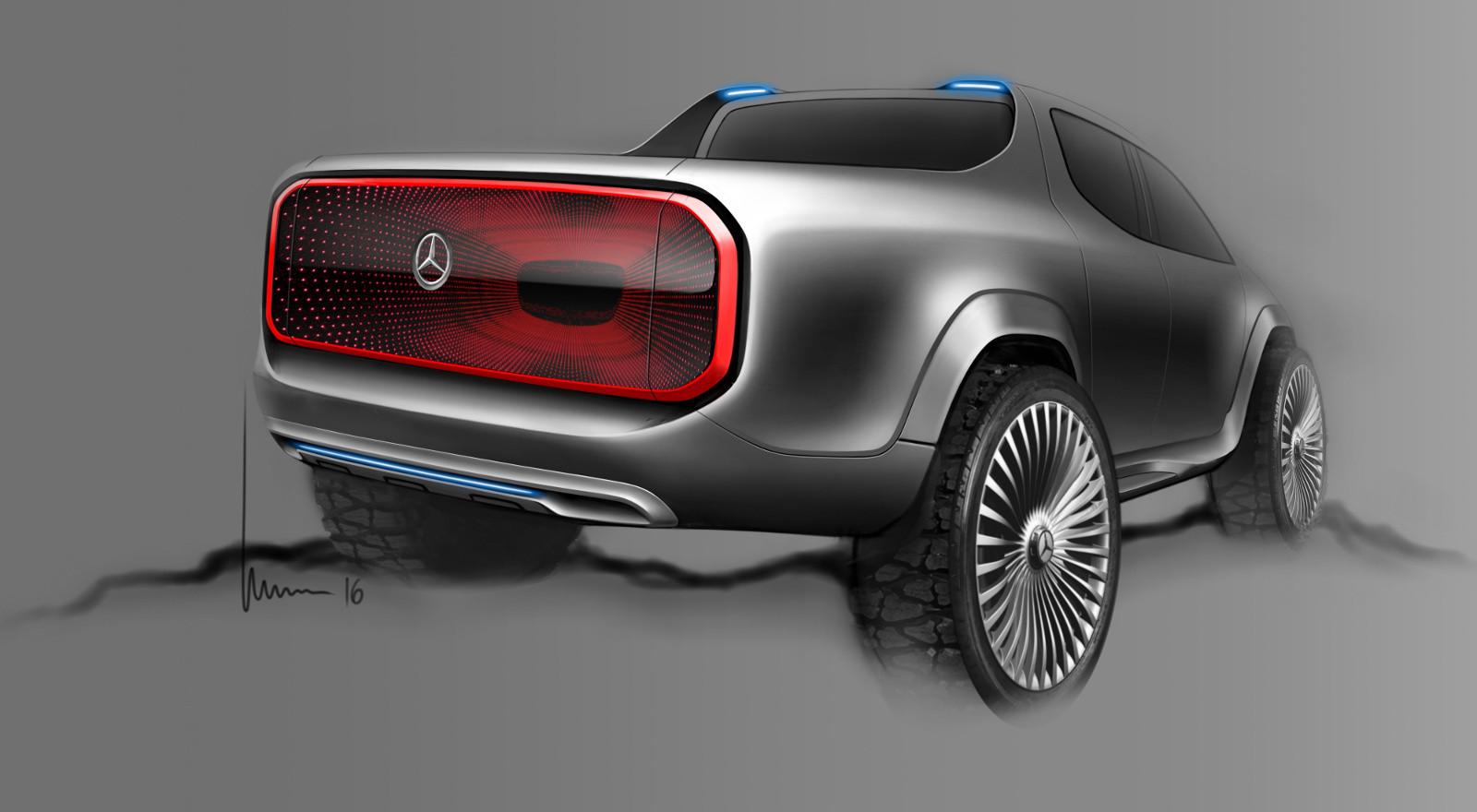 Foto de Mercedes-Benz Concept Clase X - bocetos (3/7)