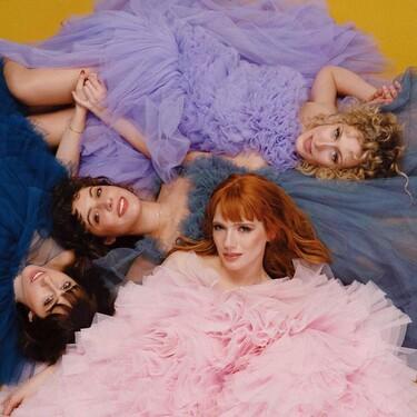 Diana Gómez, Teresa Riott, Silma López y Paula Malia posan espectaculares con unos vestidos con el tul como protagonista