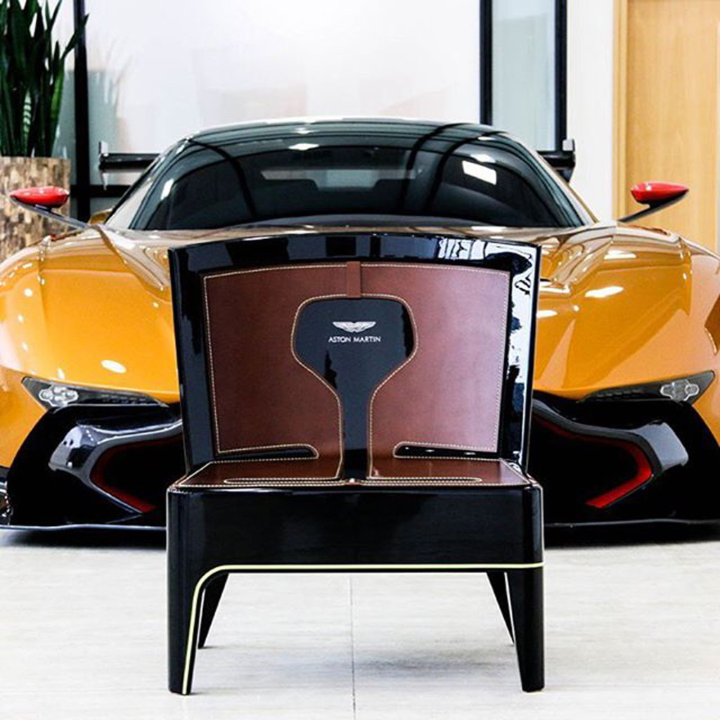 Butaca Aston Martin