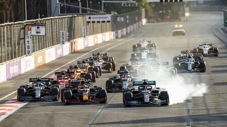 Hamilton Baku F1 2021