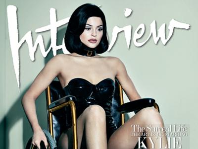 Ojito tú a las portadas de Kylie Jenner en Interview